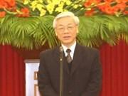 Felicitaciones a nuevo secretario general del PCV