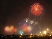 Fuegos artificiales iluminarán el cielo vietnamita por Tet