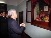Honran al presidente Ho Chi Minh