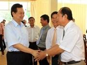 Primer ministro vietnamita visita provincia deltaica