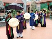 Efectuarán espectáculo de Quan Ho, patrimonio mundial