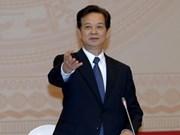 Premier urge a grupos estatales estabilización económica