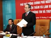 Vicepremier llama a desarrollar tecnología informativa
