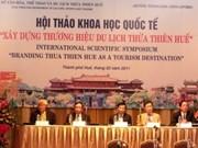 Coloquio internacional sobre turismo de Hue