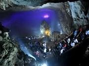 Atrae turistas cueva de Thien Duong