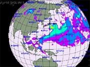 Nube radiactiva dispersa en Sudeste Asiático
