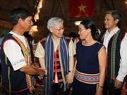 Dirigente partidista insta a mejorar vida étnica