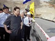 Premier elogia construcción hidroeléctrica