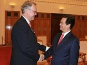 Primer ministro vietnamita recibe a funcionario de ONU