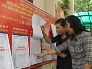 Viet Nam: 827 candidatos para los comicios parlamentarios
