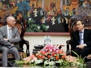 Recibe vicepremier a delegación estadounidense