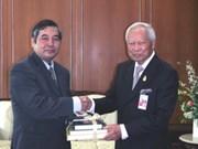 Viet Nam- Tailandia: Relaciones oficiales