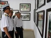 Exhiben fotos sobre el general Vo Nguyen Giap