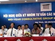 Finaliza conferencia de donantes a Viet Nam