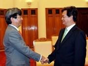 Recibe premier vietnamita al director de ADB