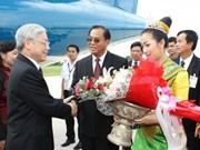 Secretario general del PCV visita provincia de Savannakhet