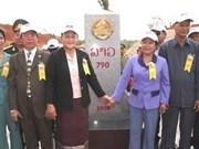 Viet Nam y Laos densifican hitos fronterizos