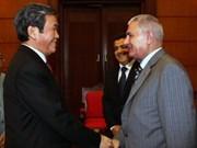Viet Nam y Palestina fortalecen relaciones partidistas