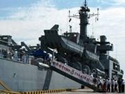 En Viet Nam buque de la Armada india