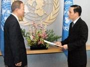 Desarrollan relaciones Viet Nam - la ONU
