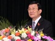 Truong Tan Sang elegido nuevo presidente de Viet Nam