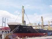 Vinashin entrega buque a Taiwán