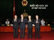 Felicitan a los nuevos dirigentes vietnamitas
