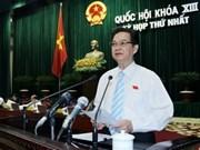 Asamblea Nacional aprobó estructura de gobierno