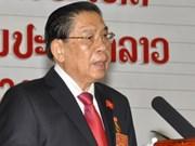 Máximo dirigente de Laos inicia visita a Viet Nam