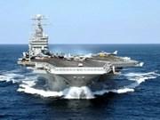 Portaaviones de EE.UU en aguas cercanas a VN