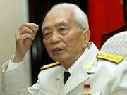 Presidente cubano felicita al general Vo Nguyen Giap