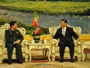 En China delegación militar vietnamita