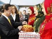 Visita premier vietnamita a Ucrania