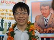 Ajedrecista vietnamita en torneo de EE.UU