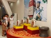 Recibe Thai Nguyen piedras soberanas de Truong Sa