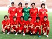 Aplastante victoria del fútbol femenina vietnamita