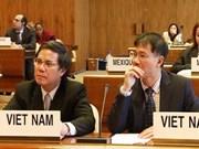 Viet Nam en reunión internacional de trabajo