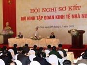 Premier urge a reestructurar grupos estatales