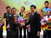Honran modelos ejemplares patrióticos en Vietnam