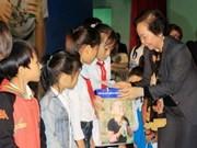 Vicepresidenta vietnamita visita provincias centrales por el Tet
