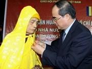 Entregan Orden Ho Chi Minh a presidente de Shangha Budista