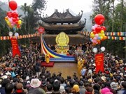 Chua Huong, mayor fiesta budista de Vietnam