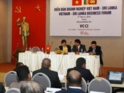 Efectúan foro empresarial Vietnam- Sri Lanka