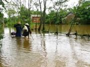 Apoyan entes internacionales a víctimas de inundaciones