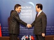 Premier vietnamita dialoga con dirigentes europeos