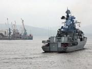 Buques rusos de guerra efectúan visita amistosa a Vietnam
