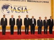 Vicepremier vietnamita en foro Boao en China