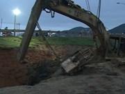 Explota bomba de pasada guerra en Nghe An