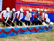 Construyen en Laos complejo en homenaje a Ho Chi Minh