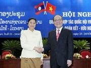 Conferencia sobre relaciones entre Vietnam y Laos